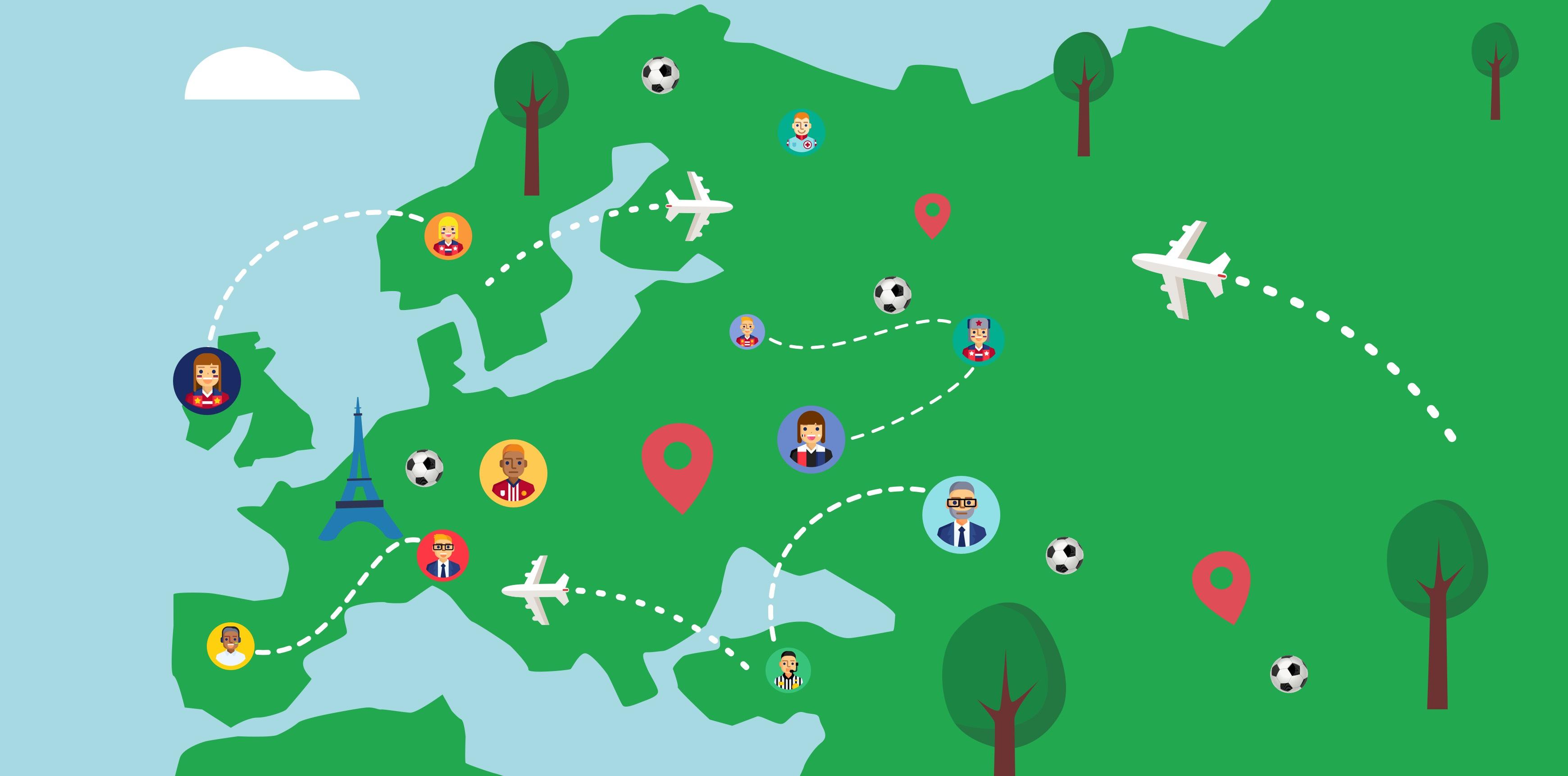 EURO2020 | Rassemblez vos filiales de l'étranger
